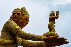 Festival della candela di Ubon in Tailandia Fotografia Stock Libera da Diritti