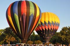 Festival 2015 della mongolfiera della società di fuoco di Plainville (CT) Immagine Stock