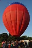 Festival 2015 della mongolfiera della società di fuoco di Plainville (CT) Fotografia Stock