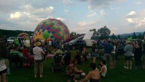 Festival della mongolfiera di Stowe fotografia stock libera da diritti