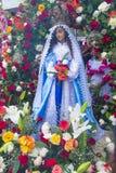 Festival della palma & del fiore in Panchimalco, El Salvador Immagine Stock