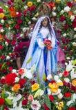 Festival della palma & del fiore in Panchimalco, El Salvador Fotografie Stock