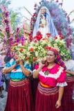 Festival della palma & del fiore in Panchimalco, El Salvador Fotografie Stock Libere da Diritti