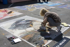 Festival della pittura Immagini Stock