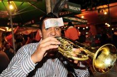 Festival della tromba di Guca Fotografie Stock Libere da Diritti