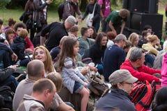 Festival 2013 della via della feta di Danzica. Fotografie Stock Libere da Diritti