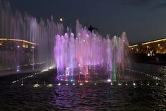 Festival delle fontane Fotografia Stock