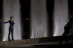 Festival delle fontane Immagini Stock