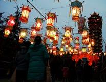 Festival delle lanterne Fotografia Stock