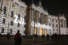 Festival delle luci Berlino Immagini Stock Libere da Diritti