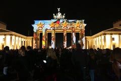 Festival delle luci Berlino Fotografia Stock Libera da Diritti
