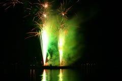 Festival der Feuerwerke Stockfotografie