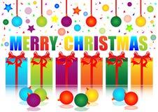 Festival der frohen Weihnachten Lizenzfreie Stockfotografie