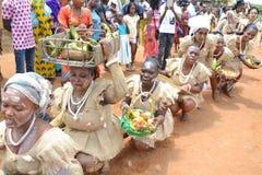 FESTIVAL DER GENERATION IN AFRIKA Lizenzfreie Stockfotos