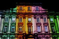 Festival der Leuchten auf Palais Heilig-Pierre Stockfotos