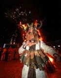 Festival der Maskerade-Spiele Surova in Breznik, Bulgarien Stockfotografie
