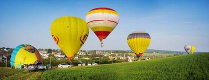 Festival des ballons à air Image libre de droits