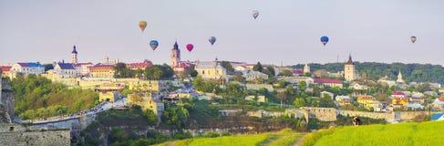 Festival des ballons à air Photographie stock libre de droits