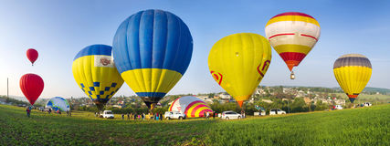 Festival des ballons à air Photos stock