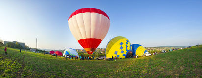 Festival des ballons à air Photo libre de droits