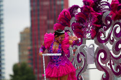 Festival des Caraïbes de Carnaval à Rotterdam photos libres de droits