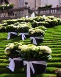 Festival des décorations florales à Gérone photo stock