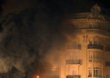 Festival des Feuers in Valencia Lizenzfreies Stockbild