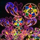 Festival des lumières Photos libres de droits