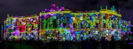 Festival des lumières 2016 Berlin, Allemagne Photographie stock libre de droits