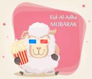Festival des Opfers Eid al-Adha Traditioneller Musselinfeiertag g Lizenzfreie Stockbilder
