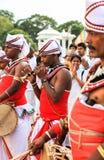 Festival des pèlerins dans Anuradhapura, Sri Lanka Photo libre de droits