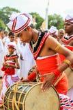 Festival des pèlerins dans Anuradhapura, Sri Lanka Images libres de droits