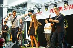 Festival des rues d'Ostrava Image libre de droits