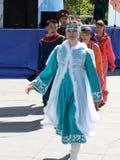 Festival des Staatsangehörigen züchtet Freundschafts-Brücke Lizenzfreies Stockbild
