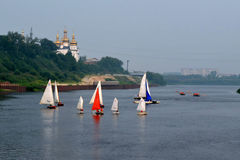 Festival des Wassersports. Tyumen Stockfotografie