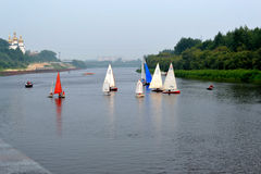 Festival des Wassersports. Tyumen Stockbilder