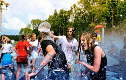 Festival di acqua fotografia stock libera da diritti