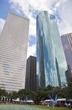 Festival di arte della città dei rami paludosi di fiume di Houston quarantesima Fotografia Stock Libera da Diritti