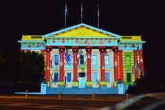 Festival di arti di notte bianca di Geelong Immagine Stock
