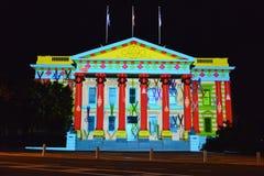 Festival di arti di notte bianca di Geelong Fotografia Stock