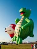 Festival di Baloon dell'aria calda di Richelieu del sur della st Jean Immagini Stock Libere da Diritti