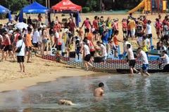 Festival di barca di drago alla baia di scoperta immagine stock libera da diritti