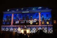 Festival di Berlino degli indicatori luminosi Fotografia Stock