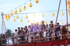 Festival di Bon-Odori in scià Alah, il 5 settembre 2015 fotografia stock libera da diritti