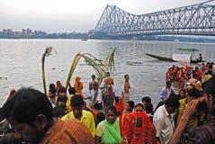Festival di Chatt in India Immagine Stock