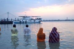 Festival di Chatt in India Immagine Stock Libera da Diritti