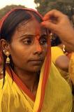 Festival di Chatt in India Fotografie Stock Libere da Diritti