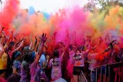 Festival di colore Fotografia Stock Libera da Diritti