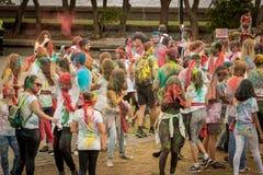 Festival di colore di Holi fotografie stock libere da diritti