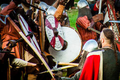 Festival di coltura medioevale Immagine Stock